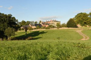 film location period drama countryside backdrop Manor House