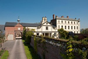Mynde Park Estate film location period drama countryside backdrop Manor House